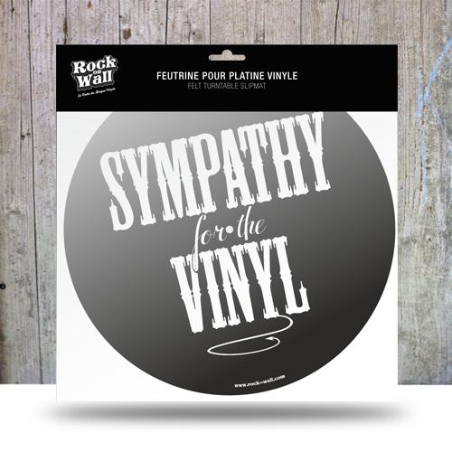 Feutrine Sympathy platine vinyle