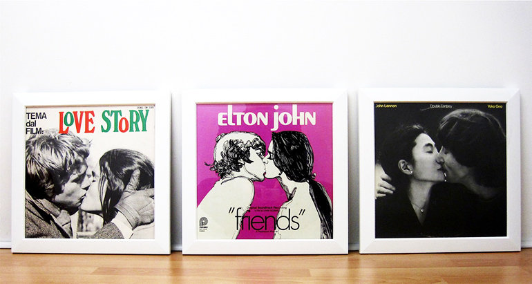 Encadrer ses disques vinyles, mode d'emploi