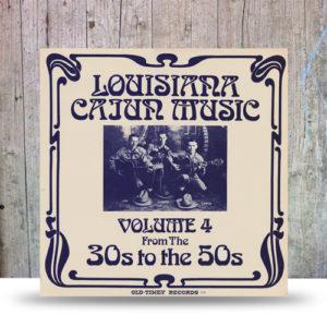 louisiana-cajun-music-volume-4-disque-vinyle