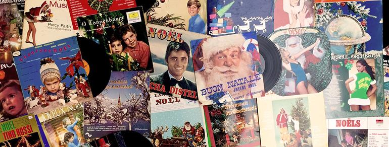 Top 10 officieux des pochettes de Noël