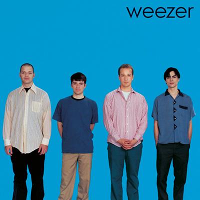 Disque vinyle Weezer blue album