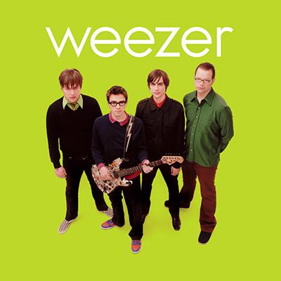 Disque Vinyle Weezer Green Album