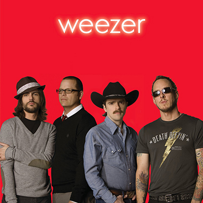 Disque Vinyle Weezer Red Album