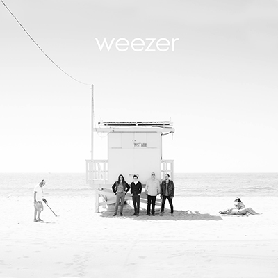 Disque Vinyle Weezer White Album Rock on Wall