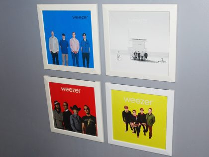 Rock on Wall Series #1 : Weezer