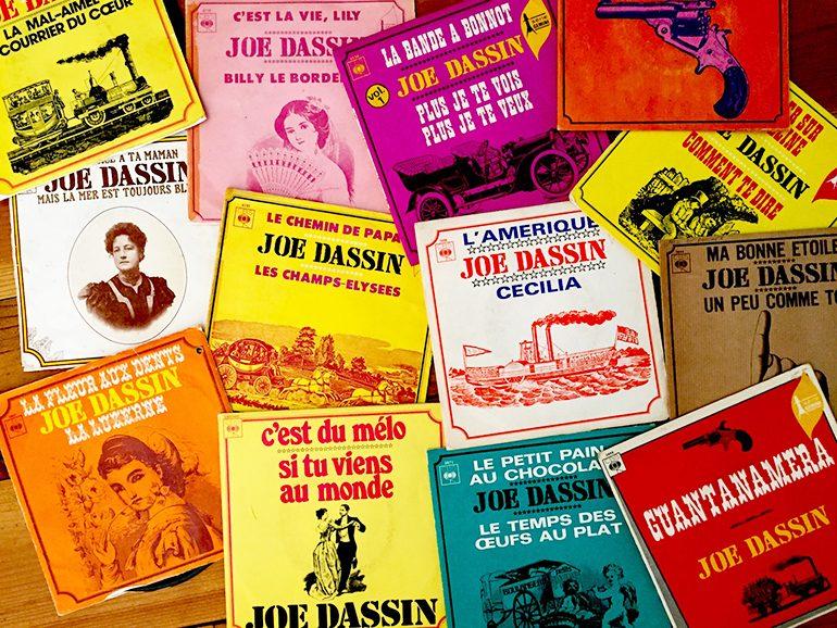 Serie-Disque-Vinyle-Joe-Dassin