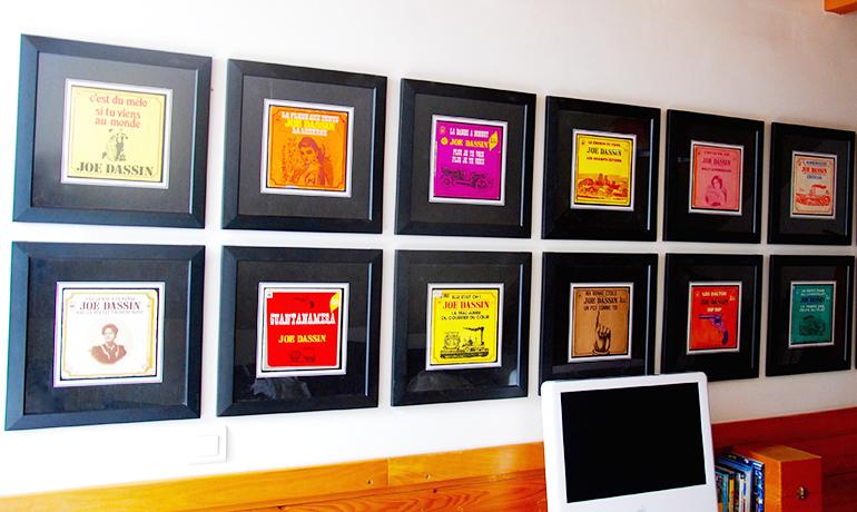disque vinyle occasion serie joe dassin