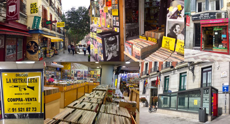 magasins disques vinyles madrid