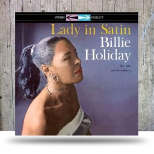 Holiday Billie Lady in satin